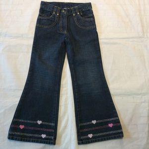 Gymboree HEARTS Jeans 5 Slim
